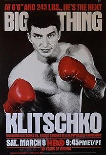 Wladimir Klitschko vs. Corrie Sanders