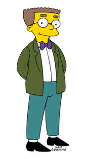 Waylon Smithers Fictional character from The Simpsons franchise