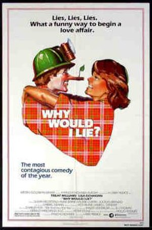 Why Would I Lie? - Original theatrical poster