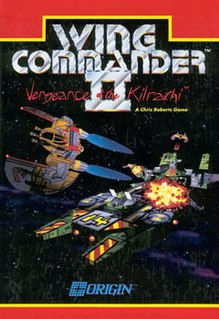 <i>Wing Commander II: Vengeance of the Kilrathi</i> 1991 computer game; 2nd installment of Wing Commander series