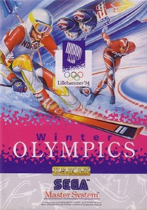 Winter Olympics (video game) - Winter Olympics: Lillehammer 94