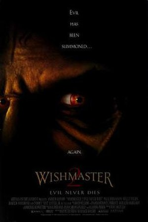 Wishmaster 2: Evil Never Dies - Promotional poster
