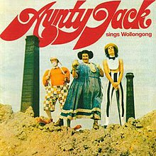 "Cover for the 2006 re-issue of ""Aunty Jack Sings Wollongong"""
