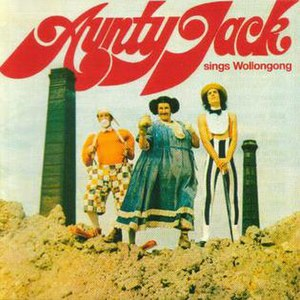 Aunty Jack Sings Wollongong - Image: Wollongong re issue