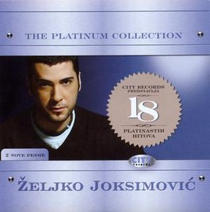 Platinum Collection (Željko Joksimović album) - Image: Zeljko Platinum collection