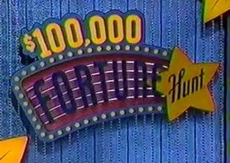 $100,000 Fortune Hunt - Image: 100,000 Fortune Hunt logo