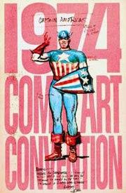180px 1974ComicArtCon book Captain America (Weapon I)