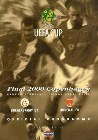 2000 UEFA Cup Final - The match programme cover