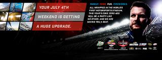 2016 Coke Zero 400 NASCAR race at Daytona in 2016