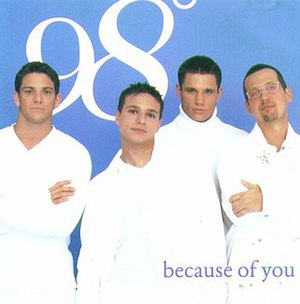 Because of You (98 Degrees song) - Image: 98 degrees because of you cd lg 8e 97cbe 0