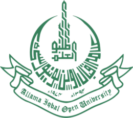 Allama Iqbal Open University logo.png