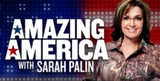 Amazing America with Sarah Palin - Image: Amazingamericabanner
