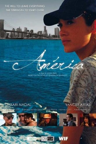 America (2011 Puerto Rican film) - Film poster