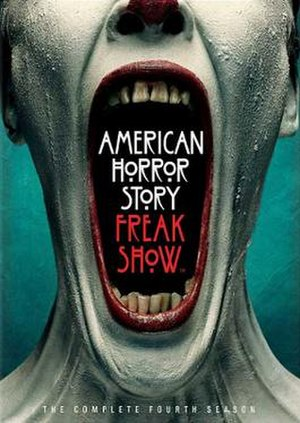 American Horror Story: Freak Show - Promotional poster and home media cover art