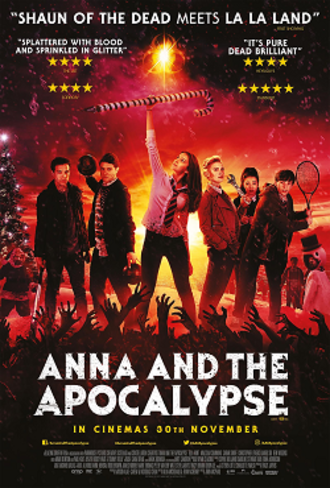 Anna and the Apocalypse - Theatrical release poster