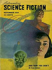 "The November 1949 ""future"" issue, in which all the stories had previously been ""reviewed"" in November of 1948"
