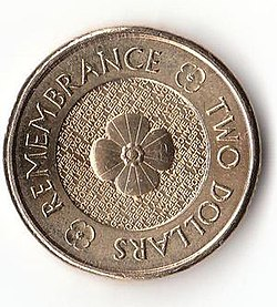 The 2017 Remembrance Reverse 2 Coin