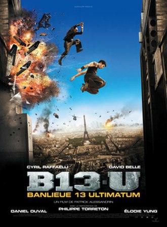 District 13: Ultimatum - DVD cover