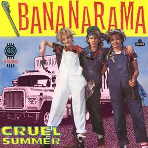 Cruel Summer (song) - Image: Bananarama Cruel Summer
