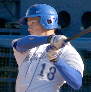 Photo of batter Dale Kasel - cropped from full...