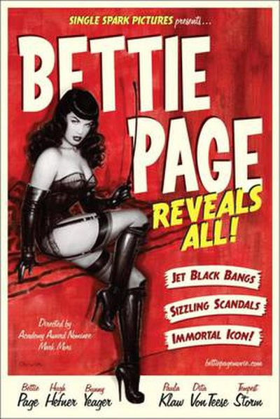Picture of a movie: Bettie Page Reveals All