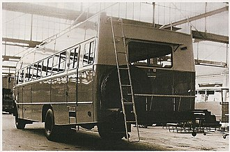 Biamax - An extremely rugged model produced specifically for Africa and the Middle East: Biamax Desert Bus (1964 model)