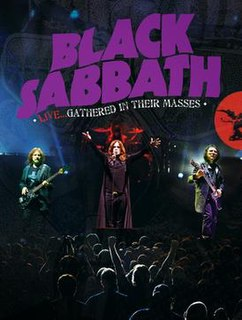 <i>Live... Gathered in Their Masses</i> live album by Black Sabbath