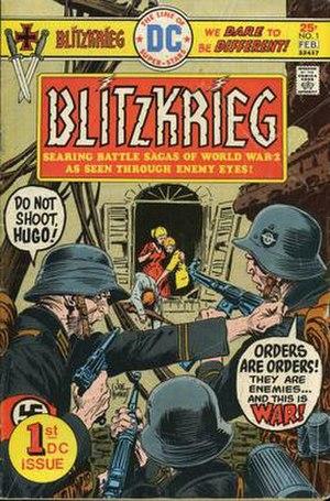 Blitzkrieg (DC Comics) - Image: Blitzkrieg 01