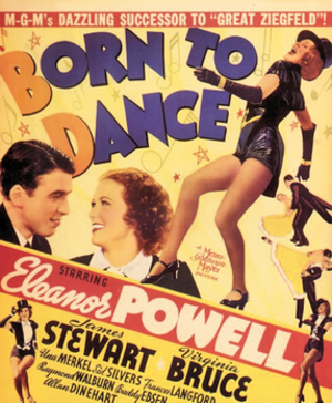Born to Dance - theatrical release poster