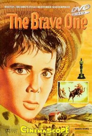The Brave One (1956 film) - DVD cover