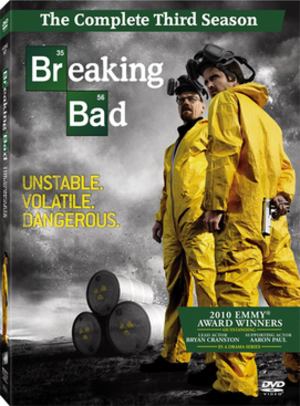 Breaking Bad (season 3) - Image: Breaking Bad season 3 DVD