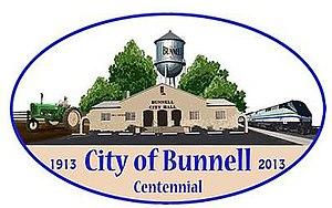 Bunnell, Florida - Image: Bunnell, Florida Centennial Logo