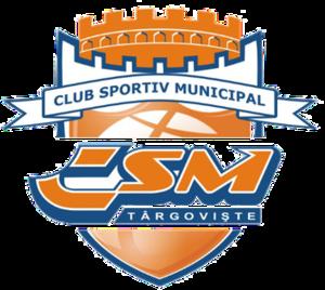 CSM Târgoviște (basketball) - Image: CSM Târgoviște logo