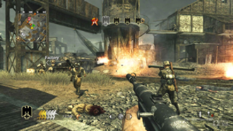 Call of Duty: World at War - Gameplay in online multiplayer's War mode
