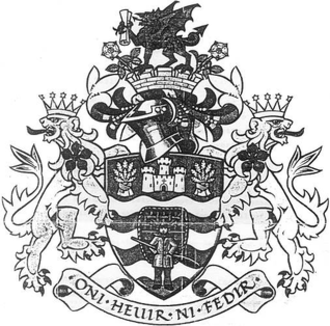 District of Carmarthen - Arms of Carmarthen District Council