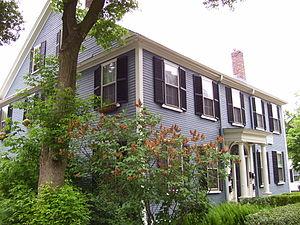 Celia Thaxter - Image: Celia Thaxter house in Watertown MA