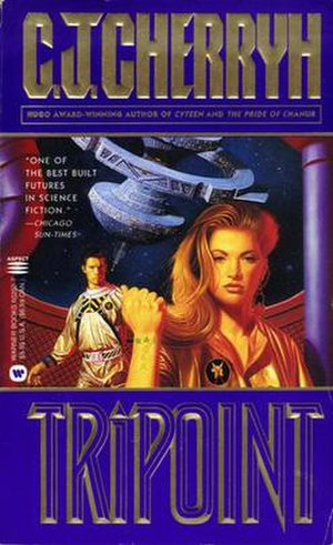 Tripoint (novel) - Image: Cherryh Tripoint PB Cover