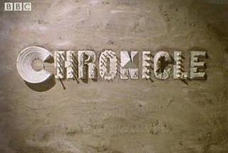 <i>Chronicle</i> (British TV programme) British archaeology television series