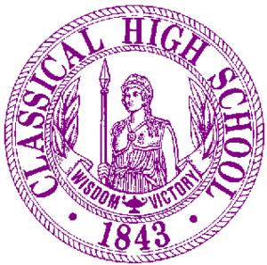 Classical High School - Image: Classical High School Logo