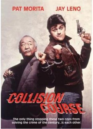 Collision Course (1989 film) - The DVD artwork for Collision Course.