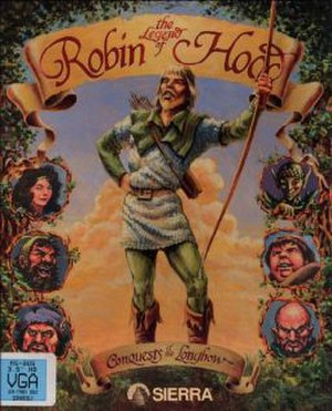 Conquests of the Longbow: The Legend of Robin Hood - DOS cover art