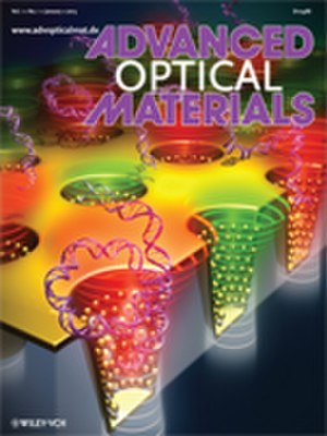 Advanced Optical Materials - Image: Cover Advanced Optical Materials 01 2013