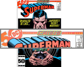 Crisis on Infinite Earths banner