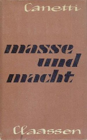 Crowds and Power - First edition (publ. Claassen Verlag)