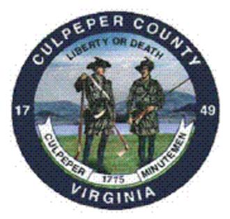 Culpeper County, Virginia - Image: Culpeper Seal