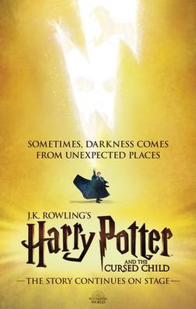 Picture of a book: Harry Potter And The Cursed Child: Parts One And Two