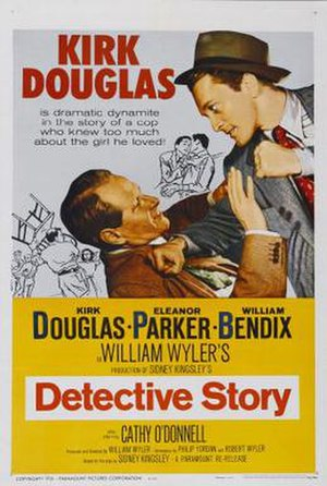 Detective Story (1951 film) - Theatrical release poster