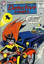 Detective Comics #233 (July 1956) Batwoman's first appearance.