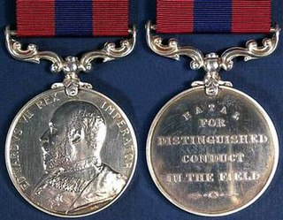 Distinguished Conduct Medal (Natal) military decoration for bravery in Natal