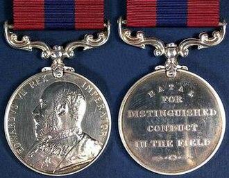 Distinguished Conduct Medal (Natal) - Image: Distinguished Conduct Medal Natal